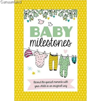 Baby Milestone Cards (bk)