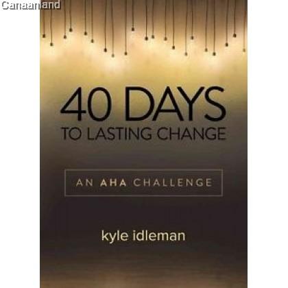40 Days To Lasting Change (bk)