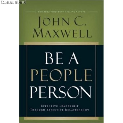 Be A People Person, Hardcover