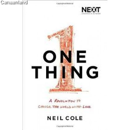 One Thing: A Revolution to Change the World