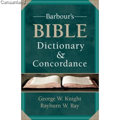 Barbour's Bible Dictionary and Concordan