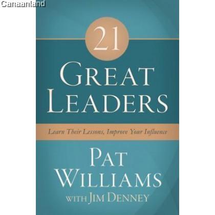 21 Great Leaders, HC (bk)