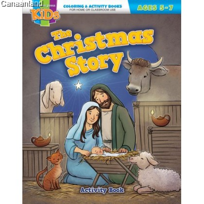 The Christmas Coloring & Activity Book (Ages 5-10)