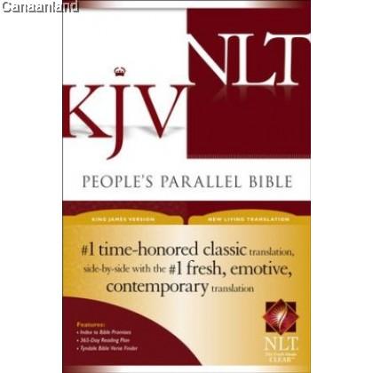 Parallel Bible - KJV/NLT, Hardcover