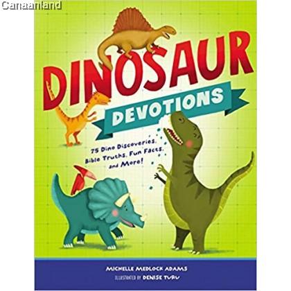 Dinosaur Devotions, Hardcover