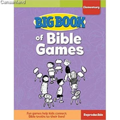 Big Book of Bible Games for Elementary
