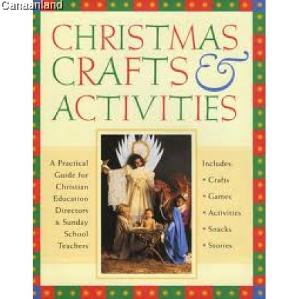 Christmas Crafts & Activities Book