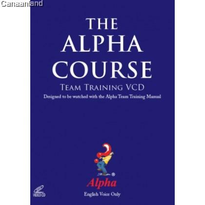 Alpha Course Team Training, 4VCD set