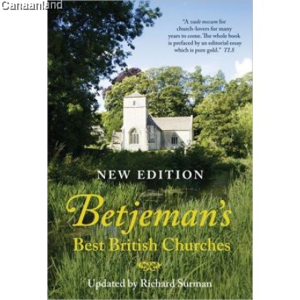 Betjeman's Best British Churches, HC (bk)