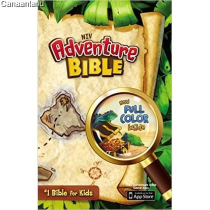 NIV - Adventure Bible, Full Color, Hardcover