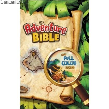 NIV - Adventure Bible, Full Color, Paperback