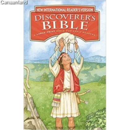 NIrV - Discoverer's Bible for Early Readers, Large Print, Hardcover