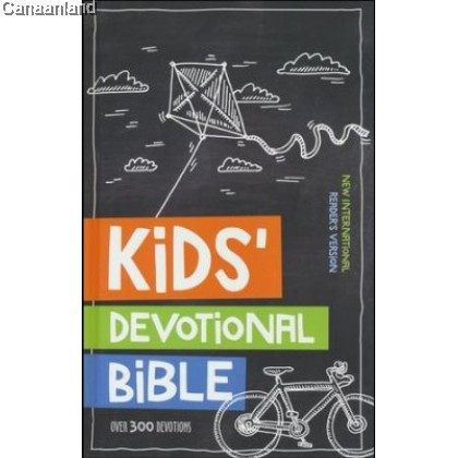 NIrV - Kids' Devotional Bible, Hardcover