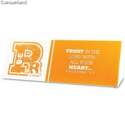 Plaque - P 3:5 Trust in the Lord With All Your Heart