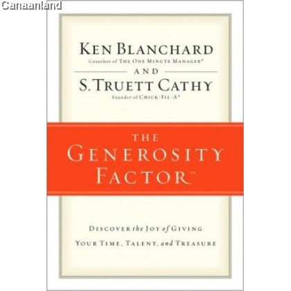 The Generosity Factor, HC (bk)