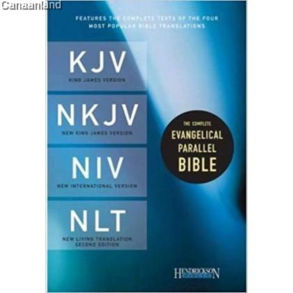 Parallel Bible - KJV/NKJV/NIV/NLT, Hardcover