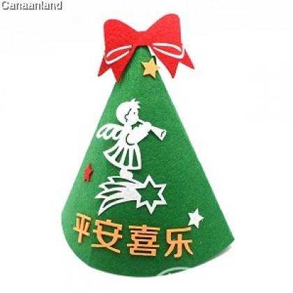 NS - Non-Woven DIY Christmas Hat 不织布手工制作DIY圣诞帽. 多款
