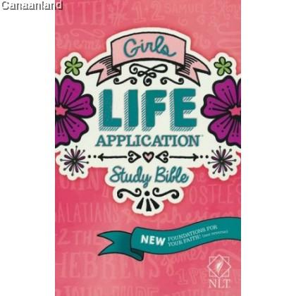 NLT - Girls Life Application Study Bible