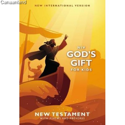 NIV - God's Gift for Kids, New Testamant with Psalms & Proverbs, Pocket-sized, Paperback
