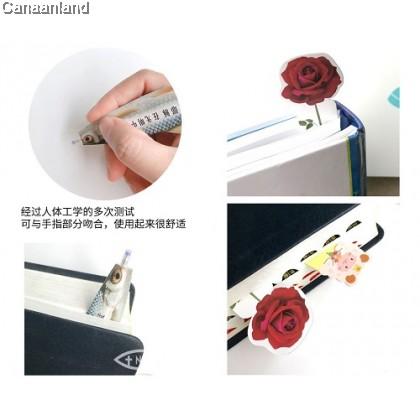 NS - Pen Bookmarks, Bilingual (3.5*15cm) 5 Designs 书签造型笔. 创意便携圆珠笔, 中英 (5款)