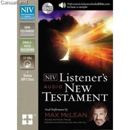 NIV - Listener's Audio Bible, New Testam