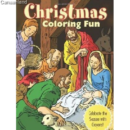 Christmas Coloring Fun: Celebrate the Season with Crayons