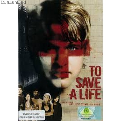 To Save a Life - DVD