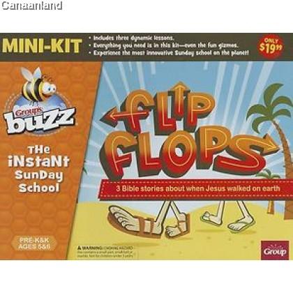 Group's Buzz Flip Flops Pre-K & K Mini-K