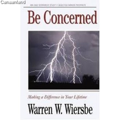 Be Concerned - Minor Prophets (The BE Series Commentary) (Out of Print)